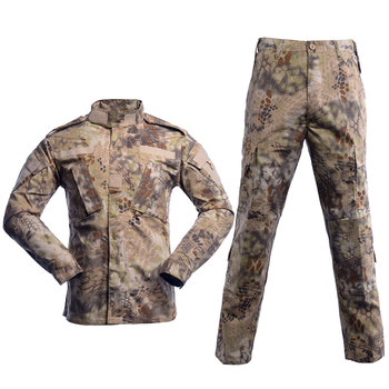 цена на WW2 Security Team Army CS Suit Man Military Uniform Combat Jacket Pants With Pocket Multi Camouflage CP ACU Tactical Costumes