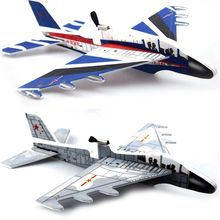 Aircraft-Model Educational-Toys Glider Foam Biplane Electric Children Powered DIY