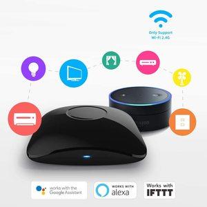 Image 3 - Broadlink RM4 Pro Smart Remote Controller WiFi IR RF Work With Alexa Google Home Mini HTS2 Tempetature Humidity Sensor Detector
