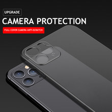 Прозрачный матовый чехол для телефона iPhone 6 6s 7 8 Plus X XR XS 11 12 mini Pro MAX SE 2020, 9 цветов, Ультратонкий Жесткий матовый чехол из поликарбоната