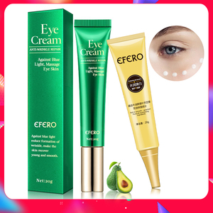 Image 1 - EFERO Anti arrugas crema ojos suero Anti envejecimiento Círculos oscuros hidratante piel seca contra luz azul noche reparación péptido ojo crema