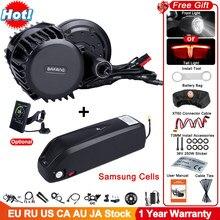 Bafang – Kit moteur pour vélo électrique, batterie Samsung 14 mAh, 52 V, 1000 W, mid drive, système de conversion, kit G320, BBSHD BBSO3