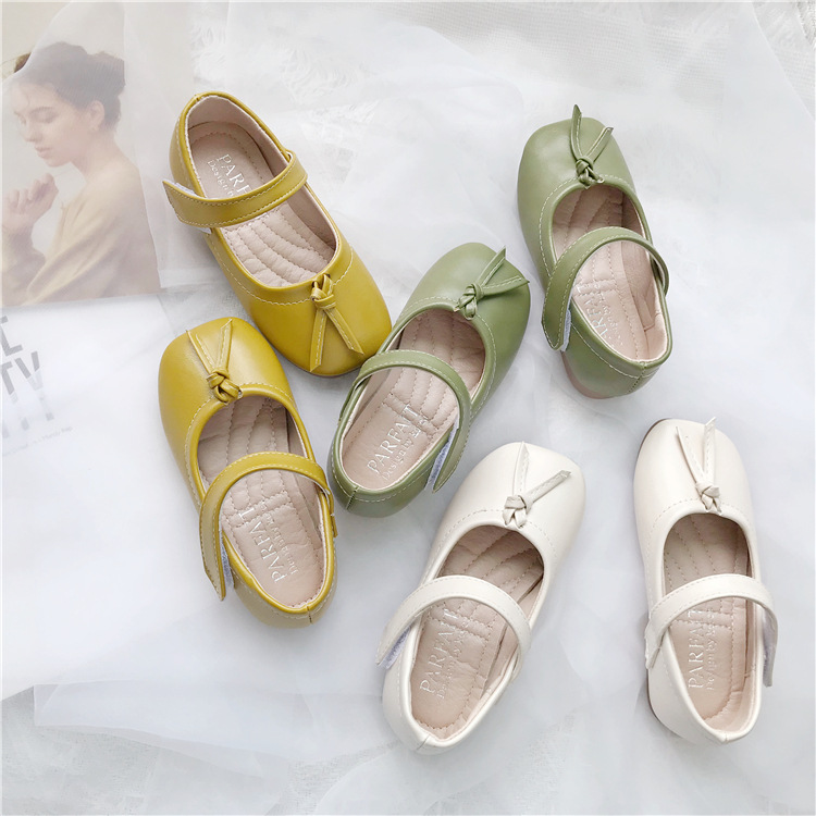 Super Sale b4ee3 , Soft Bottom Square Head Shoes For Girls