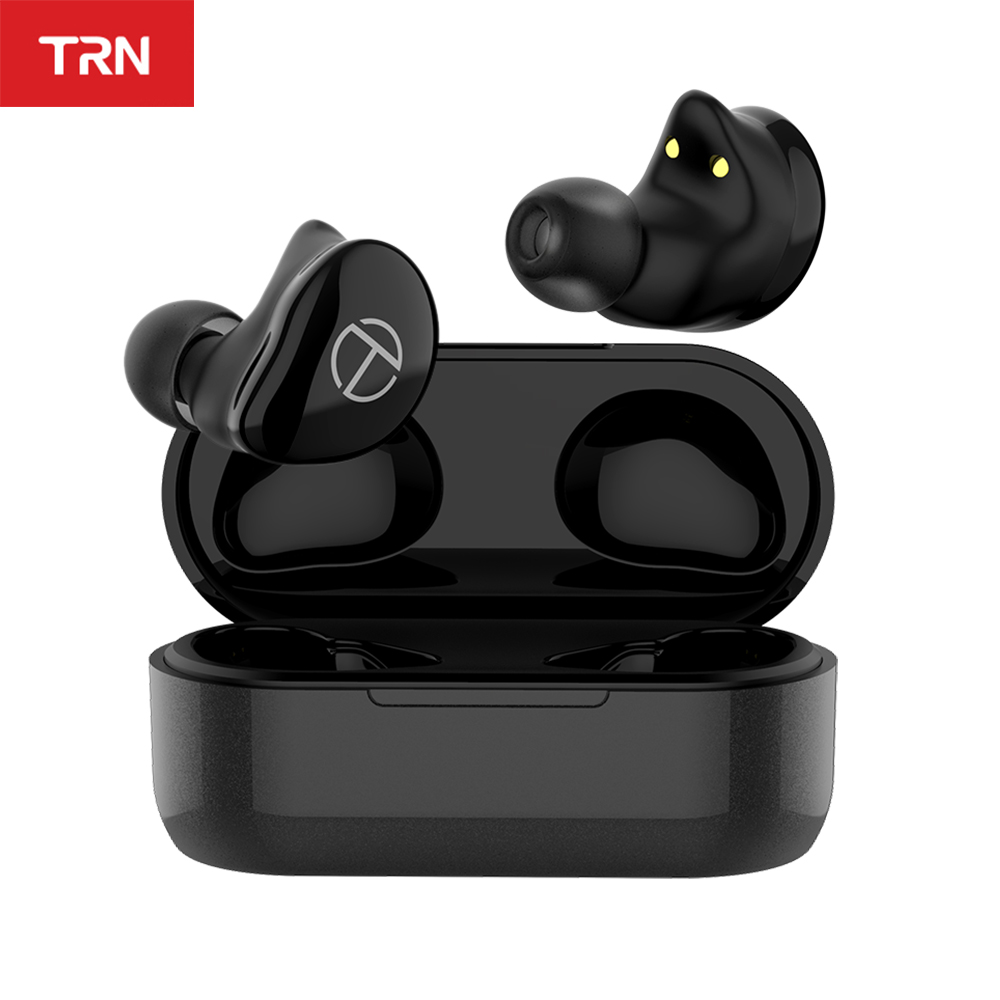 TRN T200 TWS 1BA 1DD Hybrid Driver Bluetooth V5 0 Headset Sport Wireless Earphone Earbuds QCC 3020 Chip Aptx AAC SBC IPX5