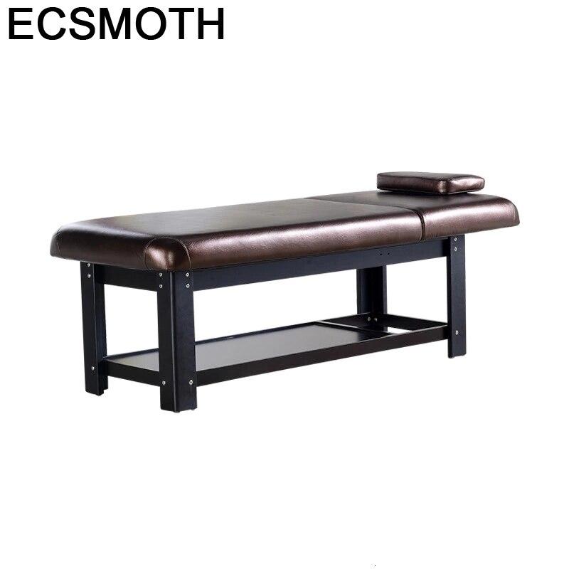 Tafel Pliante Foldable Beauty Furniture Camilla Plegable De Masaje Tempat Tidur Lipat Folding Salon Chair Table Massage Bed