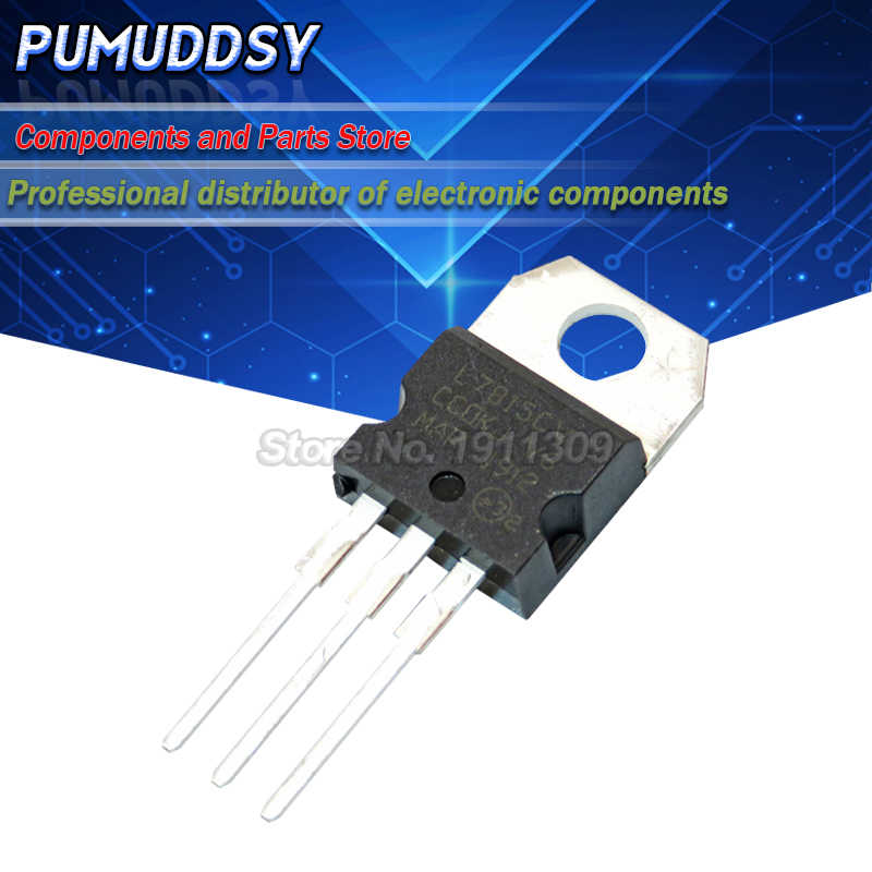10PCS L7815CV PARA-220 L7815 TO220 7815 LM7815 MC7815 IC