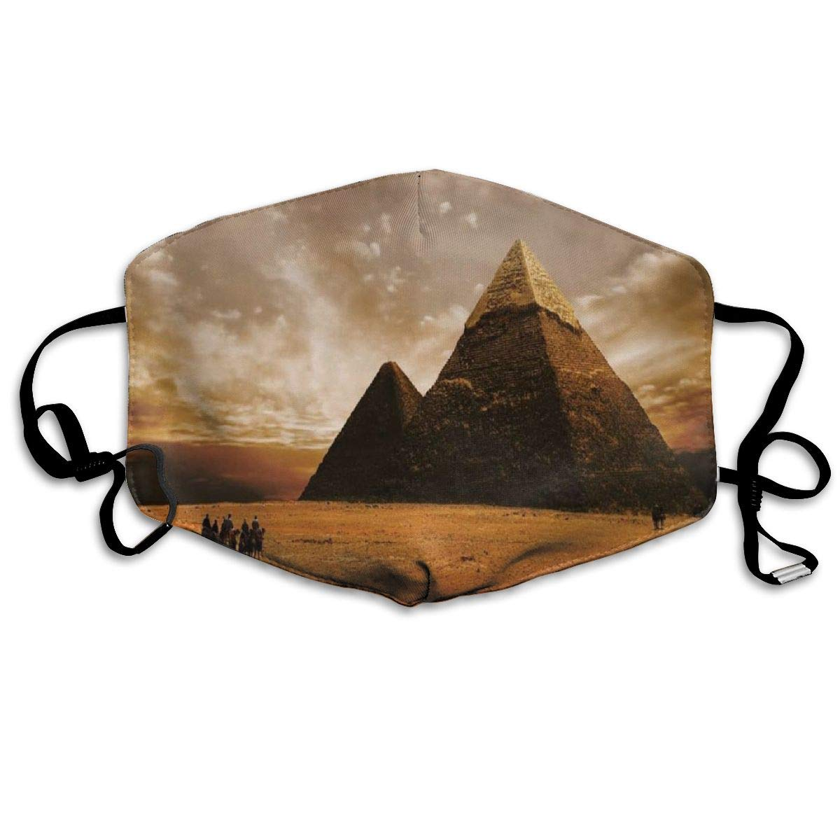 Dustproof   Washable Reusable Egyptian Pyramid Mouth Cover Mask   Protective   Warm Windproof Mask