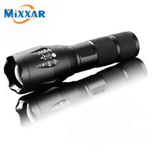 CREE XML-T6 5 Mode Zoomable Waterproof Flashlights 4000LM LED Flashlight 18650 Torch LED Light with Charger Battery for Camping 42000 lumens flashlight 14 xml t6 led outdoor high lighting waterproof flash light for fishing with 4 18650 battery charger