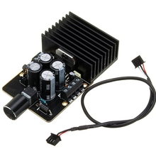 ABKT ستيريو فئة Ab الطاقة الرقمية Hifi سيارة مكبر للصوت مجلس الصوت Tda7377 Dc9 18V 30 واط ل 4 8 أوم المتكلم