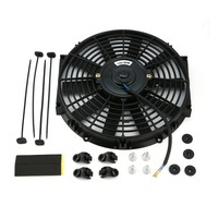Genuine 10 Inch 80W Round Frame Straight Leaves High Performance Motorsport Fans Automotive General Purpose Electronic Fan|Heating & Fans| |  -