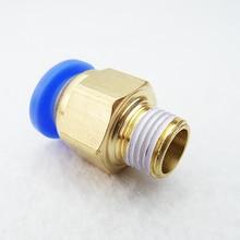 100 шт. пневматический прямо через быстрое освобождение фитинг клапана фитинги разъем PC6 01 PC6 02PC8 01 PC8 02 PC4 m5 PC10 02 быстросъемный фитинг