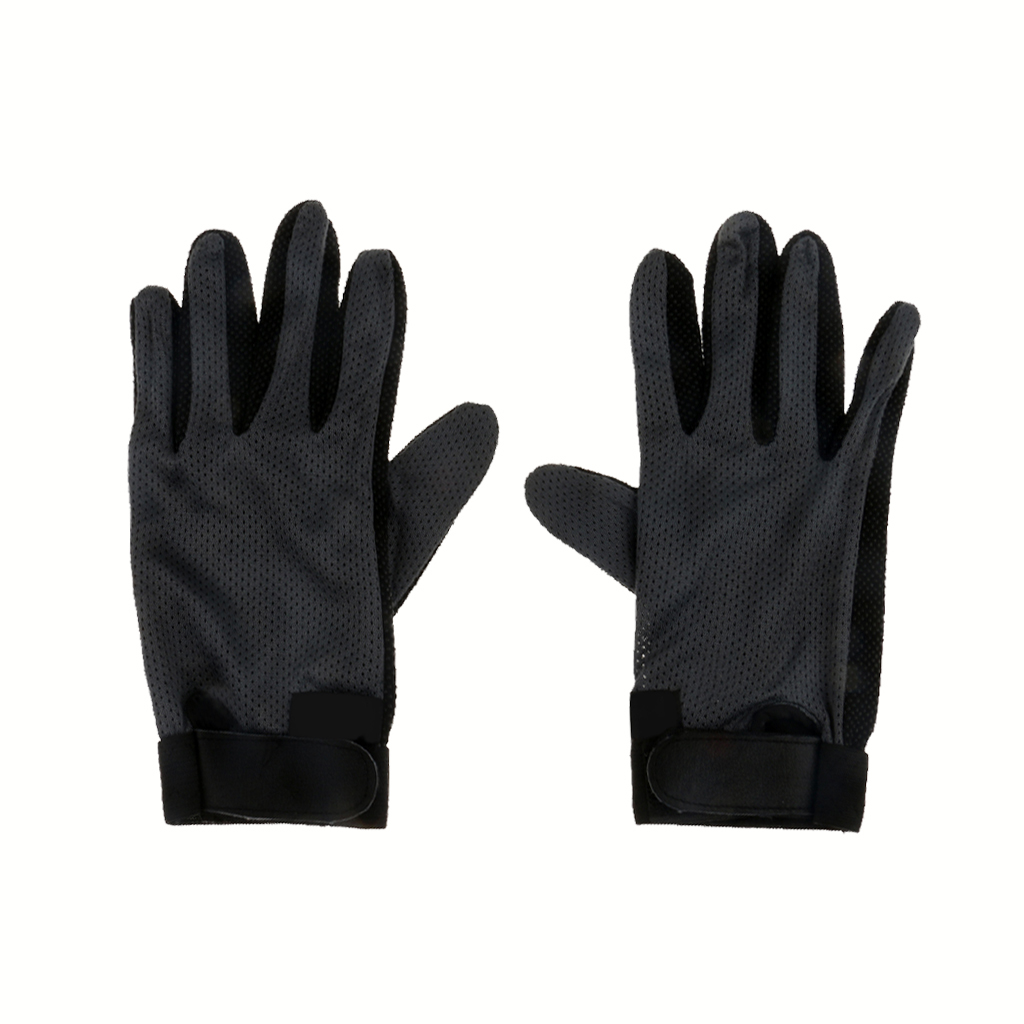 Stretchable Pimple Palm Competition Horse Riding Equestrian Grip Gloves S
