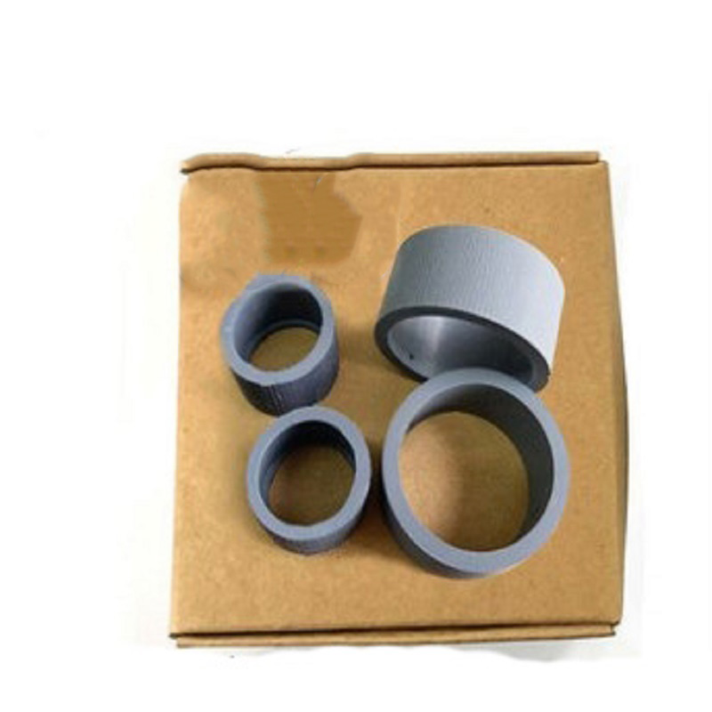 1 Juego de rodillo de recogida de escáner compatible con Canon DR-C125 DR-C225 impresora de rodillo de recogida de copiadora de Oficina 4 unids/set