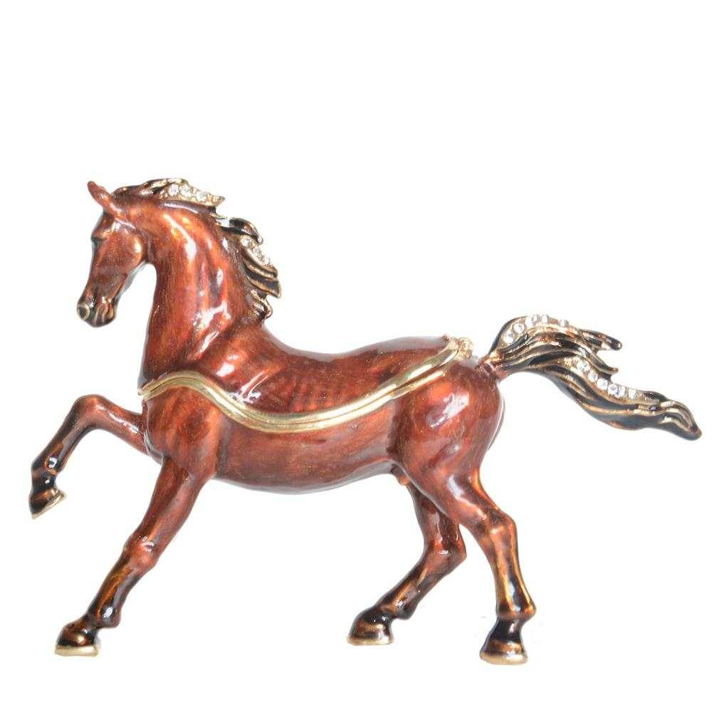 Pewter  Horse/'s And Cactus  Figurines