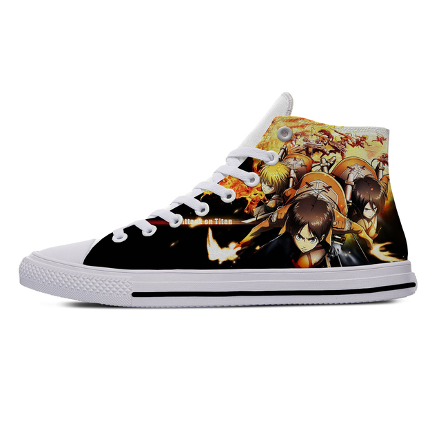 ATTACK ON TITAN THEMED HIGH TOP SHOES (5 VARIAN)