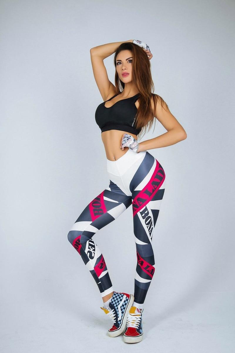 Sexy Women Yo ga Pants Women Leggings Workout Sports Running Leggings Sexy Push Up Gym Wear