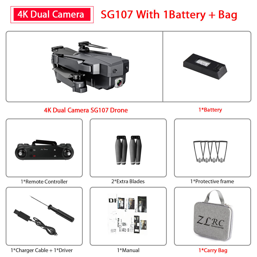 Dual Cam 4K 1B Bag