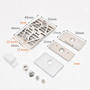 Ekrany prysznicowe szklany zawias obudowy drzwi sprzęt wysokiej jakości stop metali 1PC