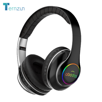 wireless headset 20H Playtime- Bluetooth Headphone Foldable LED Light 3D stereo gaming Earphone  1