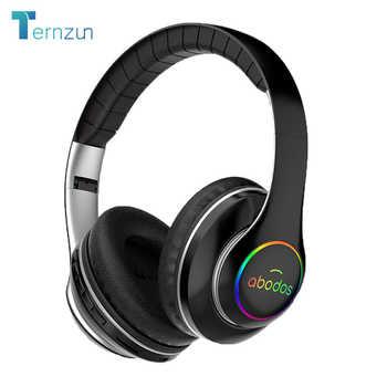 Auriculares inalámbricos con batería de 1000mAh, Auriculares Bluetooth con tiempo de reproducción 20H, luz LED plegable, auriculares estéreo 3D para juegos, 6 modos de ecualizador