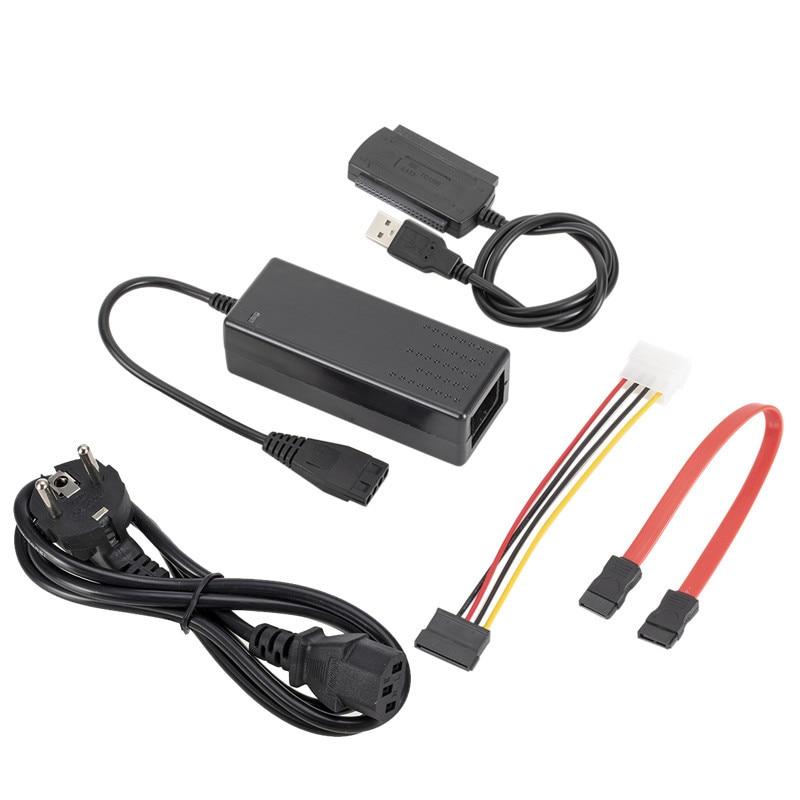 "SATA/PATA/IDE to USB 2,0 адаптер конвертер кабель для жесткого диска 2,5 ""3,5 Жесткий диск FE жесткий диск"