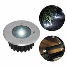 Lámpara enterrada de luz Led impermeable para jardín, foco empotrado para Sendero de jardín