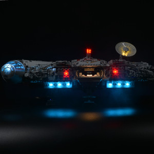 Image 2 - Đèn Led Bộ Cho Năm 75192 Và Năm 05132 Falcon Thiên Niên Kỷ Xây Dựng Mô Hình (Không Bao Gồm Các Khối Bộ)