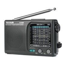 2019 recién Tecsun R-909 R909 Radio FM / MW / SW 9 banda receptor de palabras portátil Radio de tecsun R909 radio Estéreo conveniente radio