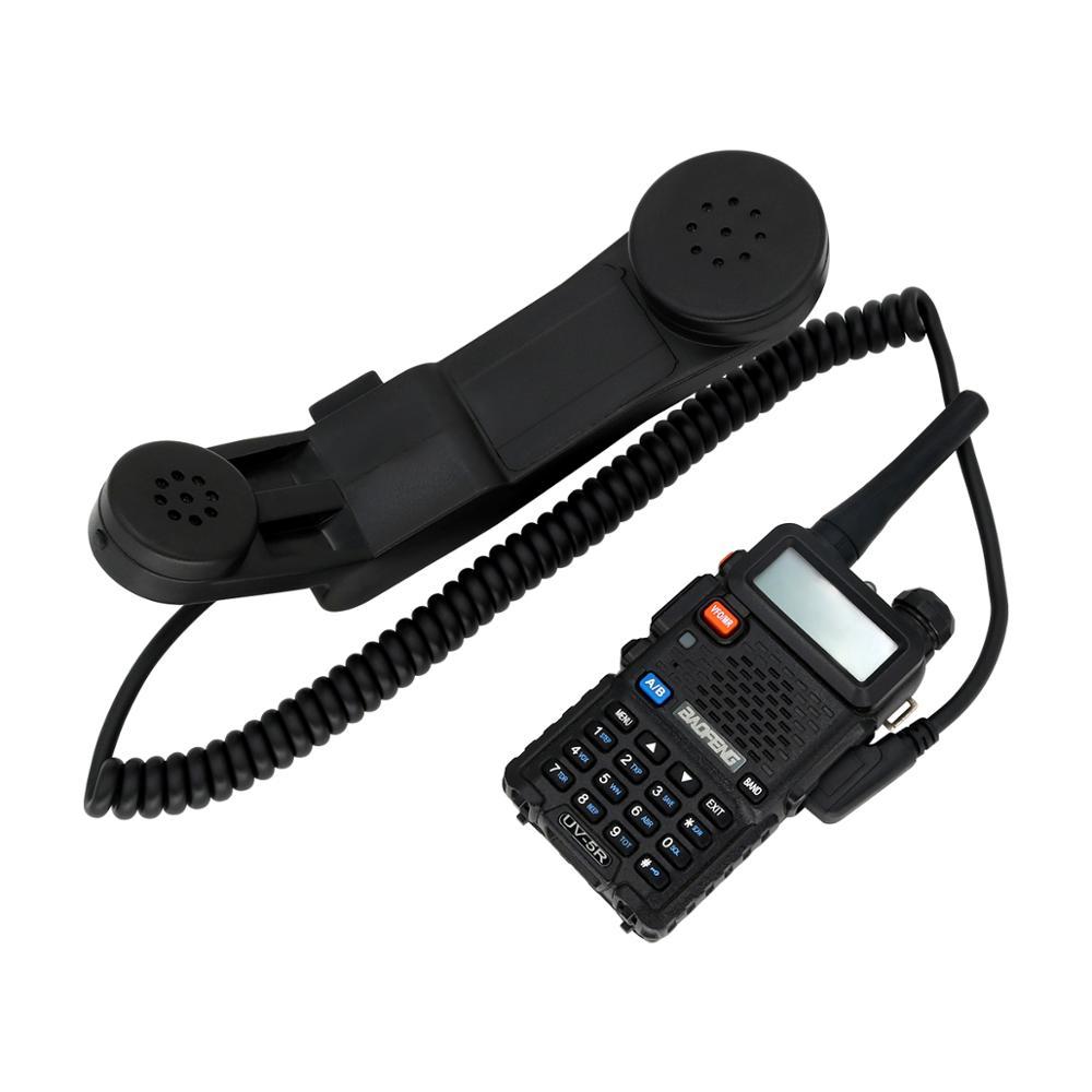 Купить с кэшбэком H250 Tactical headset walkie talkie adapter military handheld speaker microphone PTT Kenwood radio intercom microphone