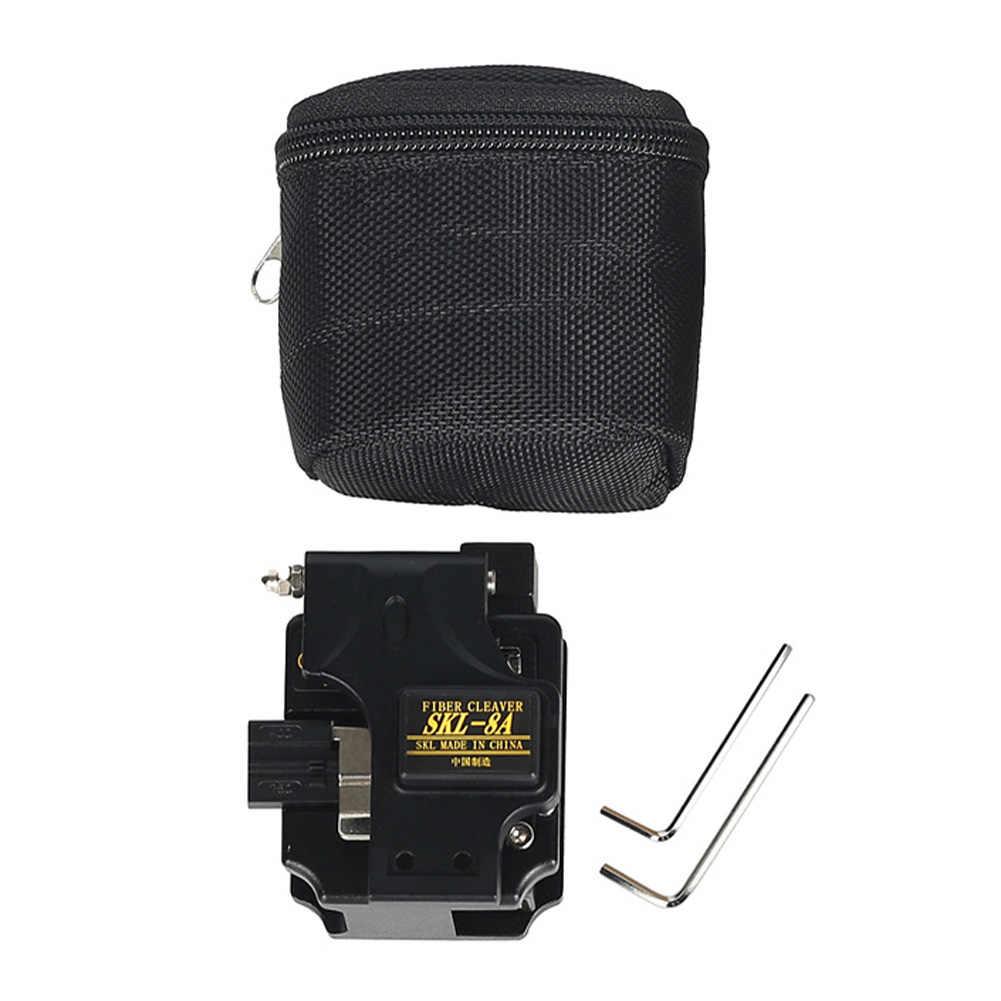 SKL-8A fibra óptica cuchilla FTTH empalmadoras máquina profesional alta precisión herramienta eléctrica fusión en caliente duradero pelado junta fría