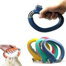 1 шт. удобная ручка для похода в магазин, сумка для продуктов, ручки, держатель, ручка, инструмент для переноски, D форма для покупок