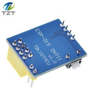 Image 3 - 1ชิ้นESP8266 ESP 01 ESP 01S DHT11เซนเซอร์ความชื้นอุณหภูมิโมดูลesp8266 NodeMCUสมาร์ทบ้านIOT (ที่มีESP01)