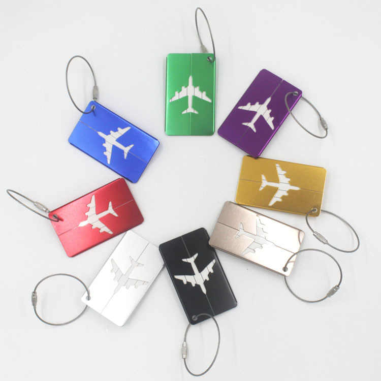 HJKL auminium Legering Bagage Tags Bagage viaje travel organizer Naam Tags Koffer Adres Label Houder Reizen Accessoires gift