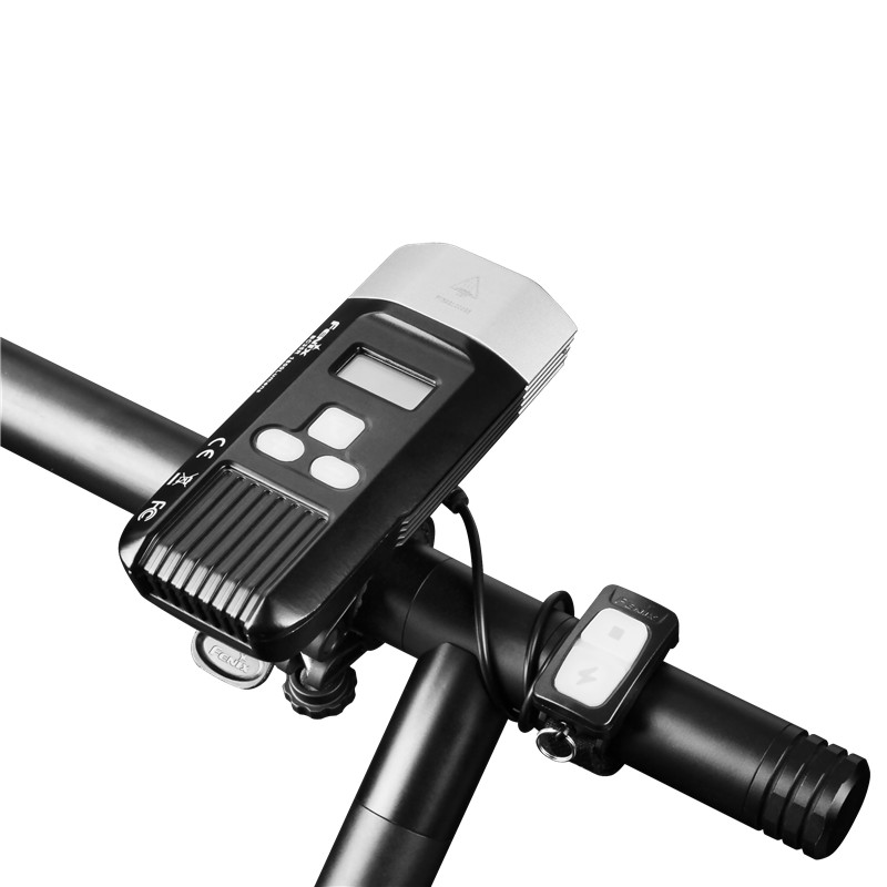 1800 lúmenes Fenix BC35R Cree XHP50 LED blanco neutro todo redondo USB recargable Luz de bicicleta con pantalla OLED - 6
