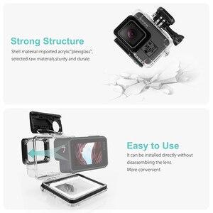 Image 4 - Vamson dla Gopro Hero 7 6 5 akcesoria wodoodporna obudowa ochronna obudowa nurkowanie 45M ochronna dla Gopro Hero 6 5 kamera VP630