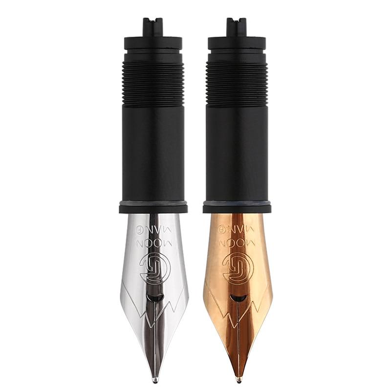 Moonman m6 m600s 35mm nib original C1-C2 para caneta-fonte canetas substituição nib f nibs parte prática de escritório suprimentos presente