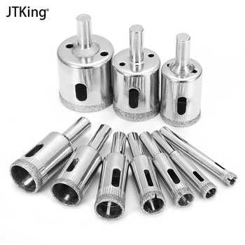 10 Pcs 6-32mm Diamond Drill Bit Set Use for Glass Tile Marble Granite Core Hole Saw Drill Bits Electric drilling tool