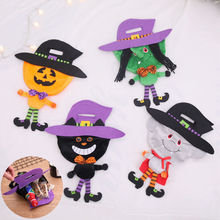 NEW Halloween Loot Party Pumpkin Trick or Treat Tote Bags Candy Bag Gift Toy Kids