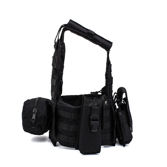 Men Military Tactical Vest Paintball Camouflage Molle Hunting Vest Assault Shooting Airsoft Vests Outdoor Clothes Accessories 4