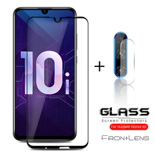 2-in-1 camera glass on honor 10i screen protector glasses for huawei honer 10 i i10 honor10i hry-lx1t lens film
