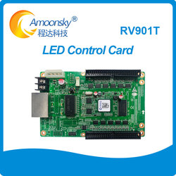 linsn rv901 full color LED display receiving card rv901t work with Linsn TS802D ts901D TS852D linsn sending card best prices