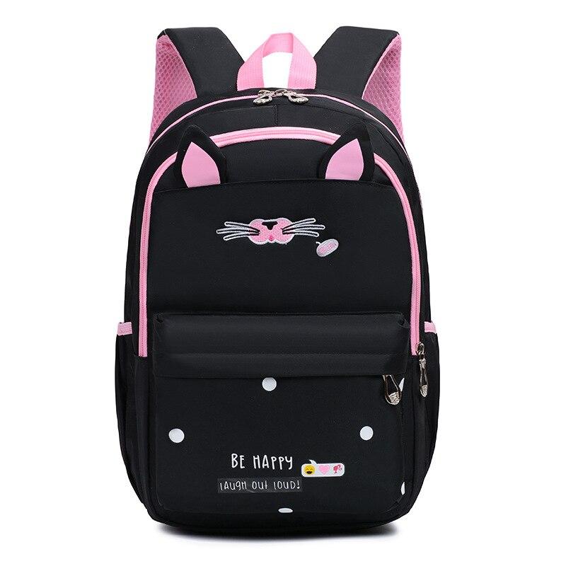 Детские школьные сумки для девочек, детский Ранец, водонепроницаемый ортопедический рюкзак, школьные сумки с кошкой, рюкзак для начальной школы, mochilas infanti|Школьные ранцы| | АлиЭкспресс