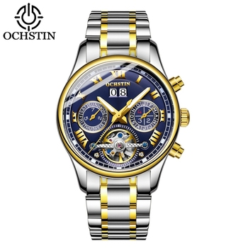 OCHSTIN 6137 Automatic Men Watches Luxury Mechanical Self Wind Wristwatch Waterproof Watch for Man montre homme Clock Male New
