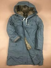 Free Shipping  WW2 German M43 Grey Rabbit Fur Winter Parka Great Coat ,Re Enactors