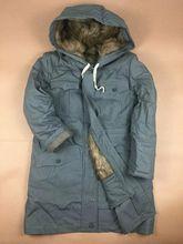 Spedizione gratuita WW2 tedesco M43 grigio pelliccia di coniglio Parka invernale grande cappotto, Re Enactors