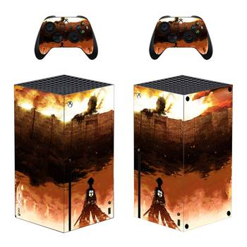 Attack On Titan Skin Sticker Decal Cover for Xbox Series X Console and 2 Controllers Xbox Series X Skin Sticker Vinyl 2