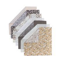 7pcs/set Cotton Cloth Patchwork Sewing Cloth Handicrafts for Home Decoration 25x25cm