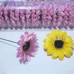 Напрямую от производителя продажи самодельный букет Материал модель комплектующих для декор в виде головки подсолнечника мыло цветок