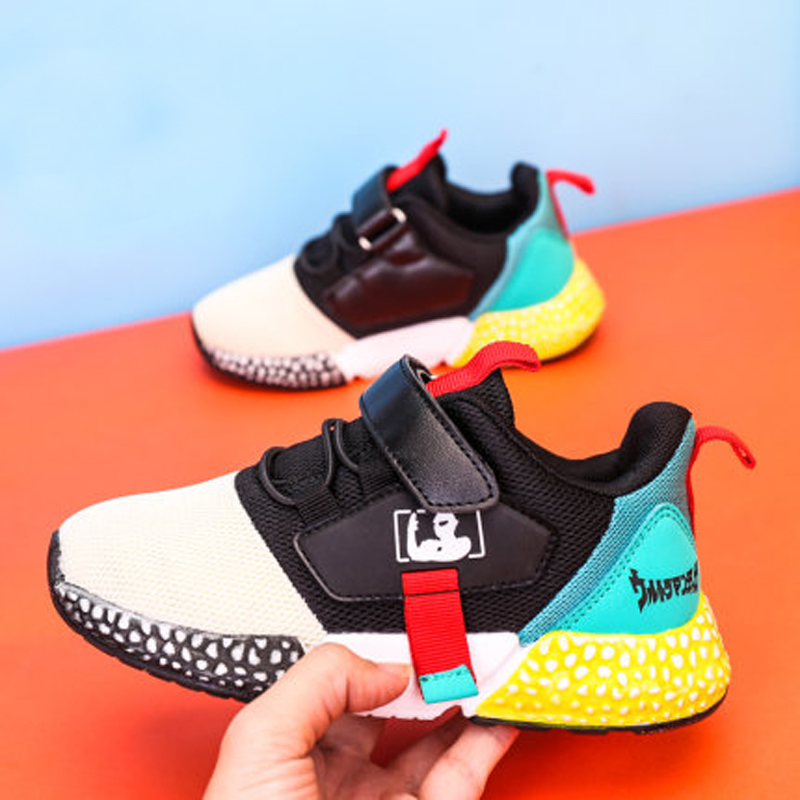 Boy Girl Kid Sneakers Toddler/Little/Big Kid School Sports Trainers Children Casual Breathable Brand Kid Running Chaussure  Buty