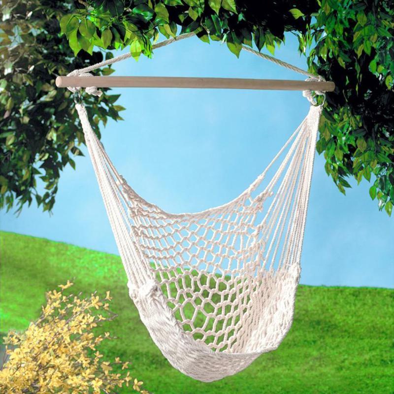 Портативный гамак стул настенный повесить веревка для качелей для садовых и комнатных растений детское кресло
